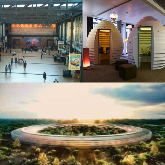 Futuristic and Cool Office Spaces