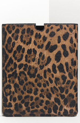 Dolce&Gabbana Leopard Print iPad Case