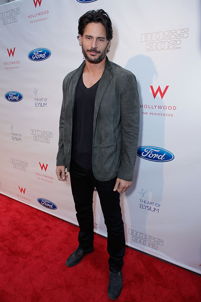 Topher Grace and Joe Manganiello Hotly Hit the Red Carpet Together in LA