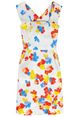 Erdem Nell Printed Cotton Dress, $1,490