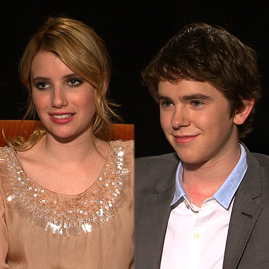 Video: Emma Roberts and Freddie Highmore on Their Big Teenage Crushes!
