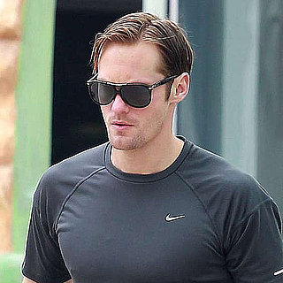 Alexander Skarsgard Leaving the Gym in LA