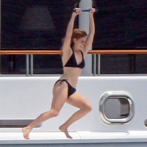 Princess Beatrice Bikini Pictures in Cap d'Antibes With Shirtless Dave Clark