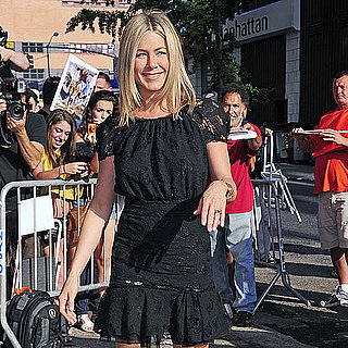 Jennifer Aniston Arriving at The Daily Show in NYC