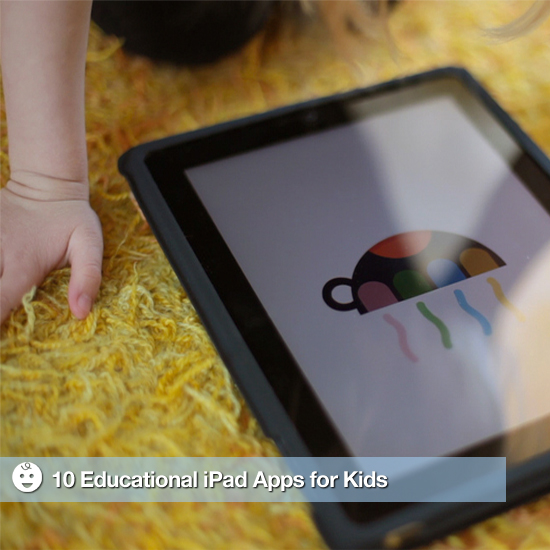 10 iPad Apps Kids and Parents Will Love