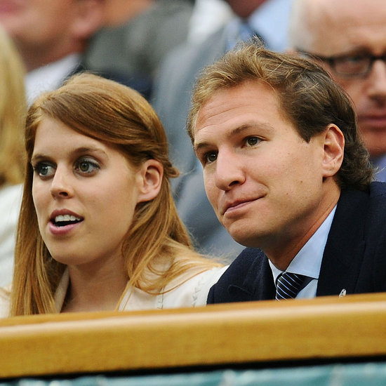 Princess Beatrice and Boyfriend Dave Clark at Wimbledon