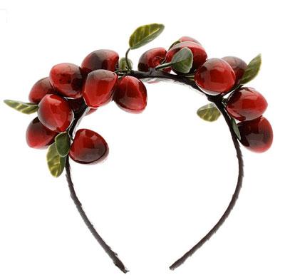 Cherries Headband by Topshop