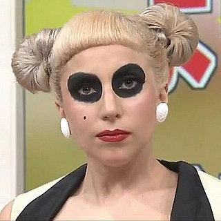 Lady Gaga Dressed as a Giant Panda 2011-06-29 10:30:00