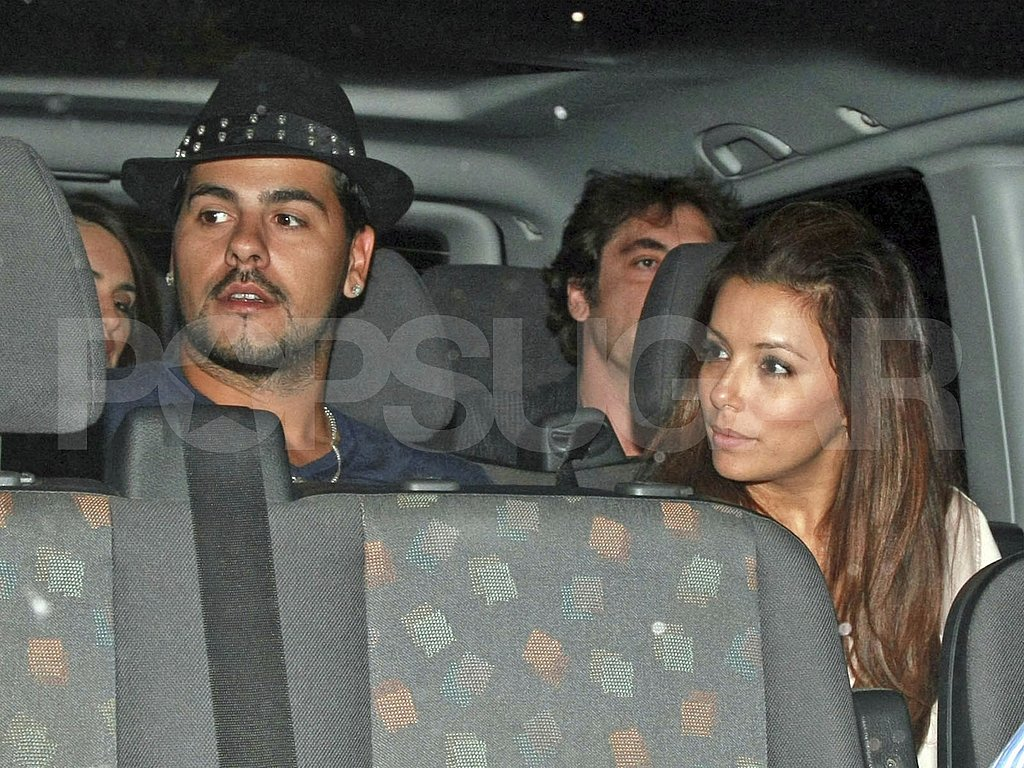Eva and Eduardo sat together on the way home.