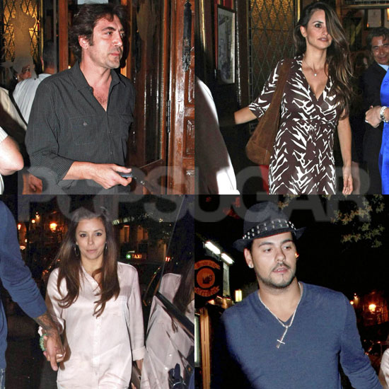 Javier and Penelope Double Date With Eva and Eduardo in Spain