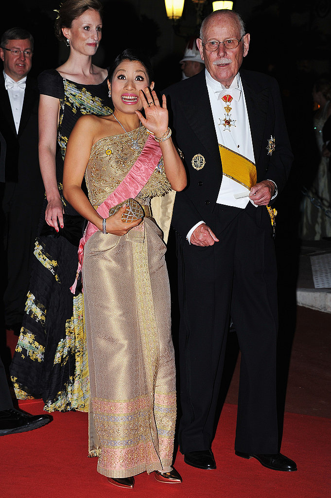 Thailand's Princess Sirivannavari Nariratana attended a dinner at Opera terraces after the religious wedding ceremony of Prince Albert II of Monaco and Princess Charlene of Monaco.