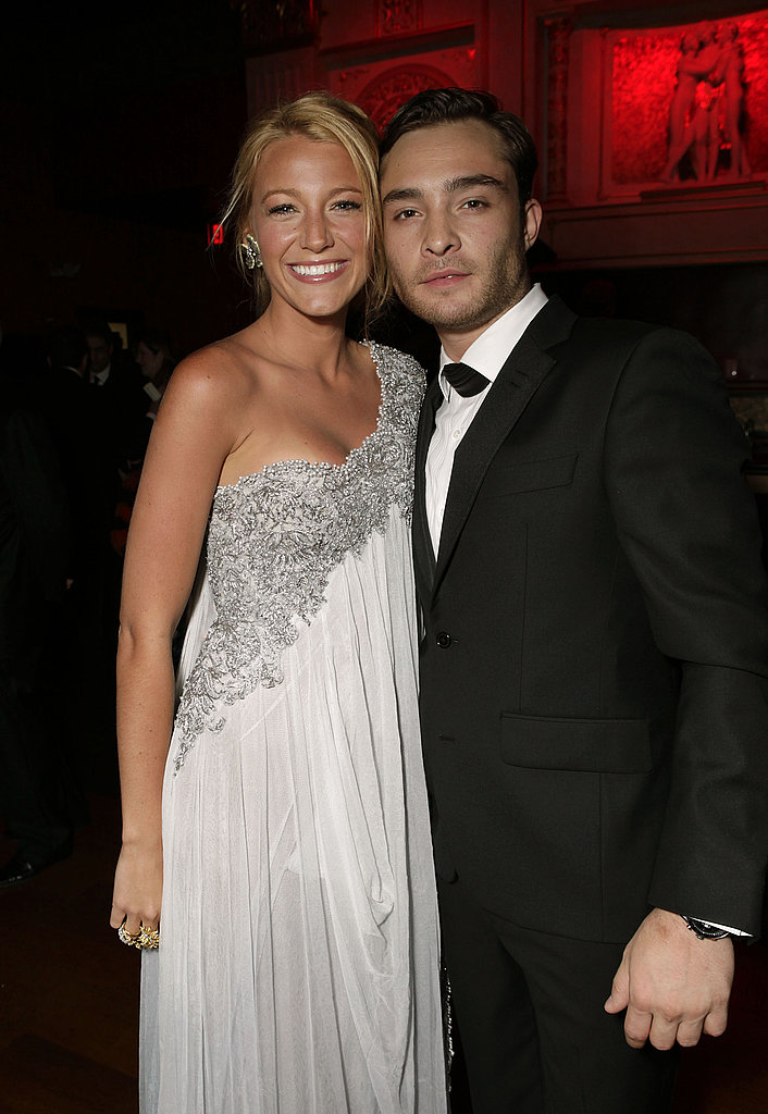 Blake Lively and Ed Westwick at the BAFTA Brits to Watch event in LA.