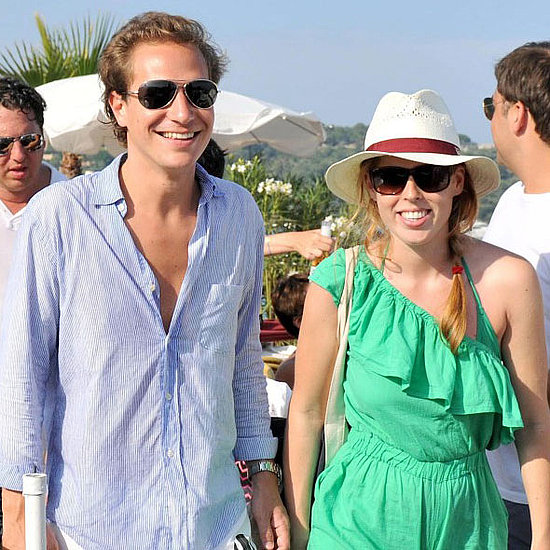 Princess Beatrice and Dave Clark on a Yacht in St. Tropez