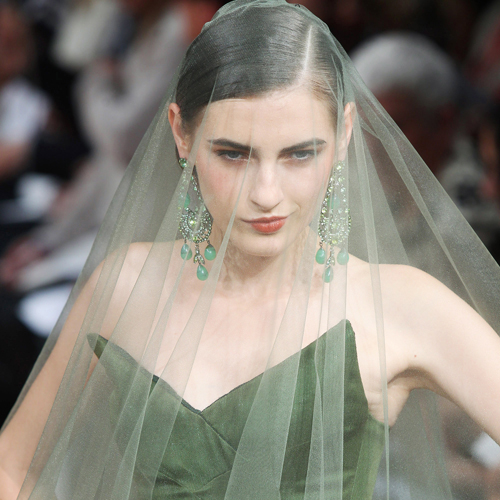 The Bride Wore . . . Green?