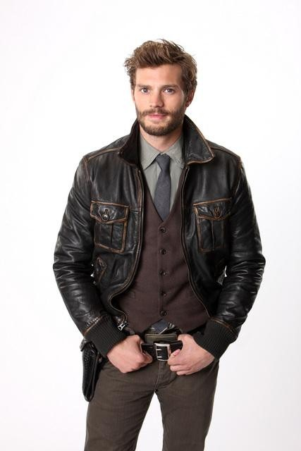 Jamie Dornan as Sheriff Graham on ABC&#039;s Once Upon a Time.