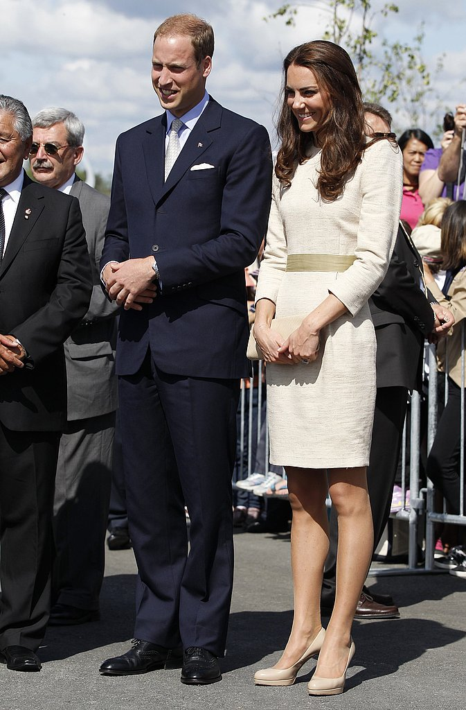 Kate Middleton and Prince William continued their tour of Canada.