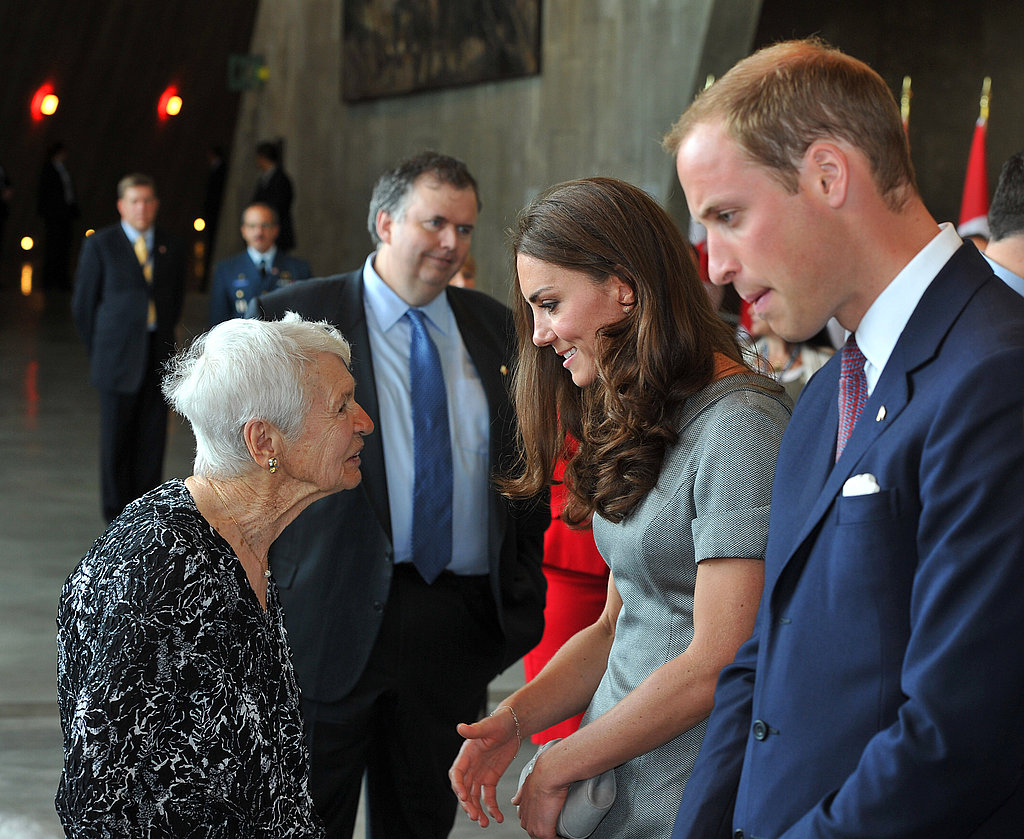Kate Middleton and Prince William visited the Canadian War Museum.