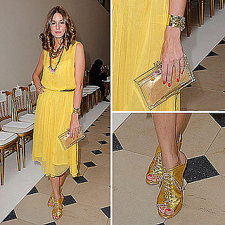 Olivia Palermo Wears Topshop to Couture Fashion Week
