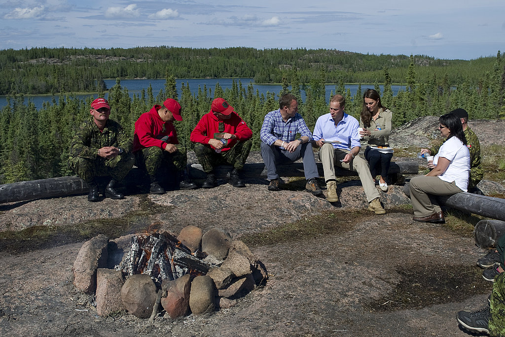 Kate Middleton and Prince William were in the Northern Territories.