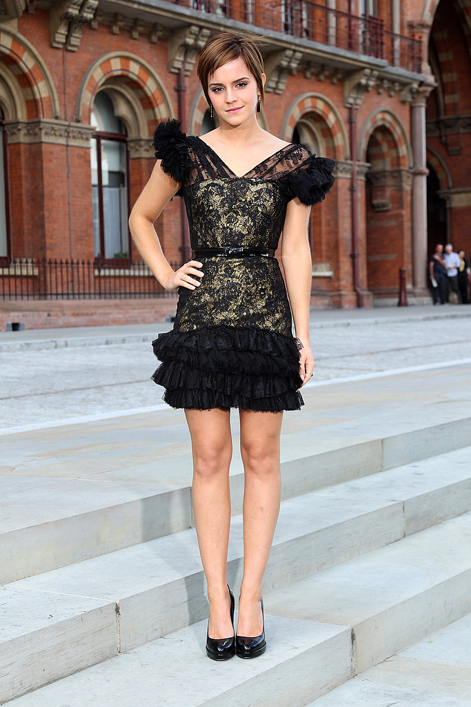 Emma Watson Harry Potter And The Deathly Hallows Part 2 Premiere Dress Red Carpet Dress Pictu...