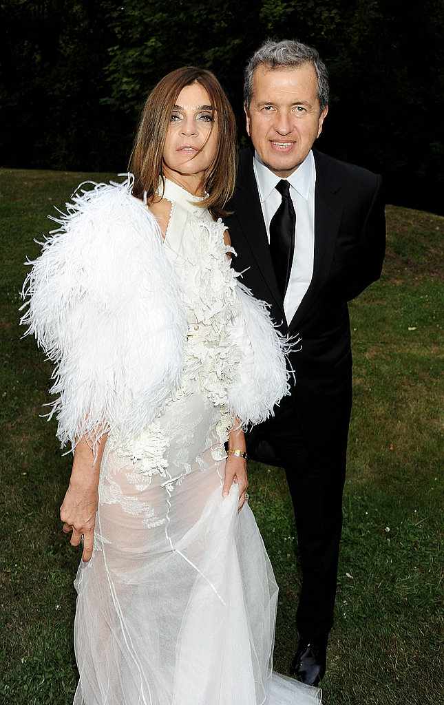 Carine Roitfeld in Givenchy couture, Mario Testino