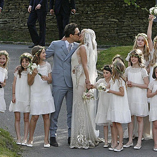 Kate Moss Flower Girl Dresses