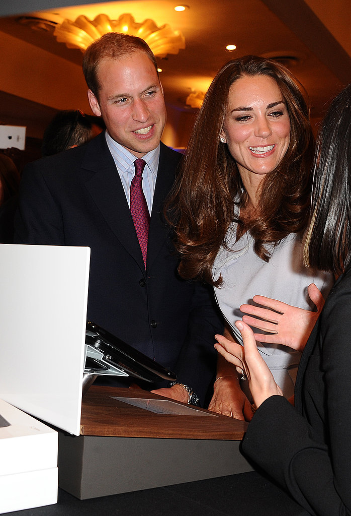 Prince William and Kate Middleton at Variety technology conference.