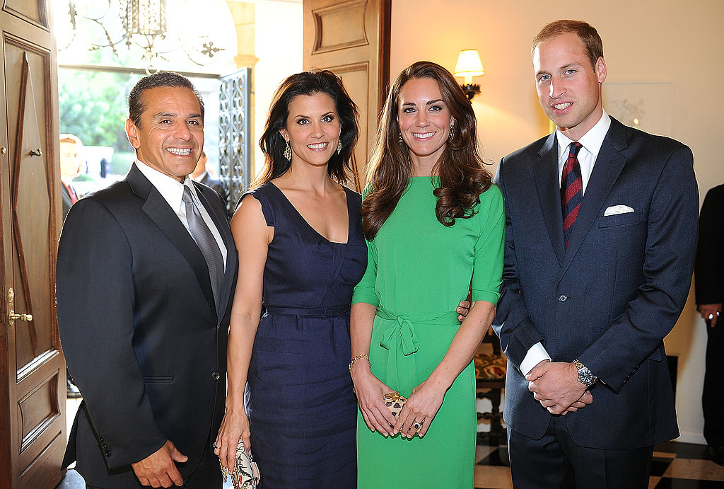 Prince William and Kate Middleton in LA.
