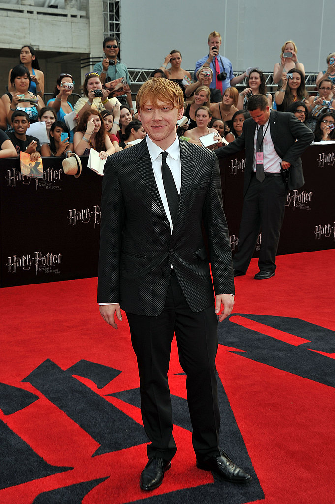 Rupert Grint at the Harry Potter and the Deathly Hallows Part 2 premiere in NYC.