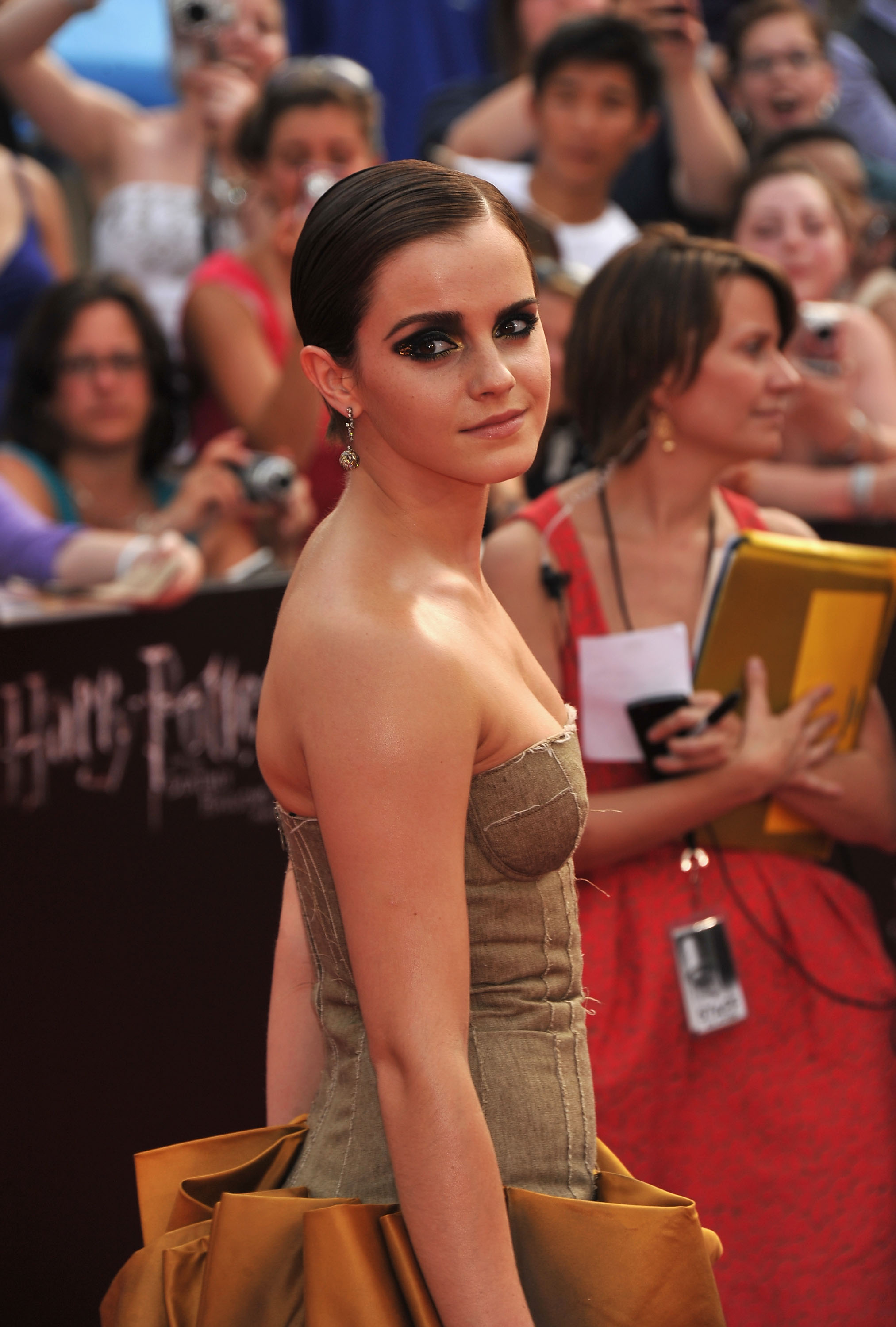 Emma Watson Harry Potter And The Deathly Hallows Part 2 Premiere Dress Pictures of Emm...