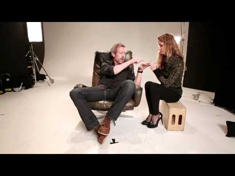 Hugh Laurie Shows He's Set to Be L'Oreal Funniest Face!