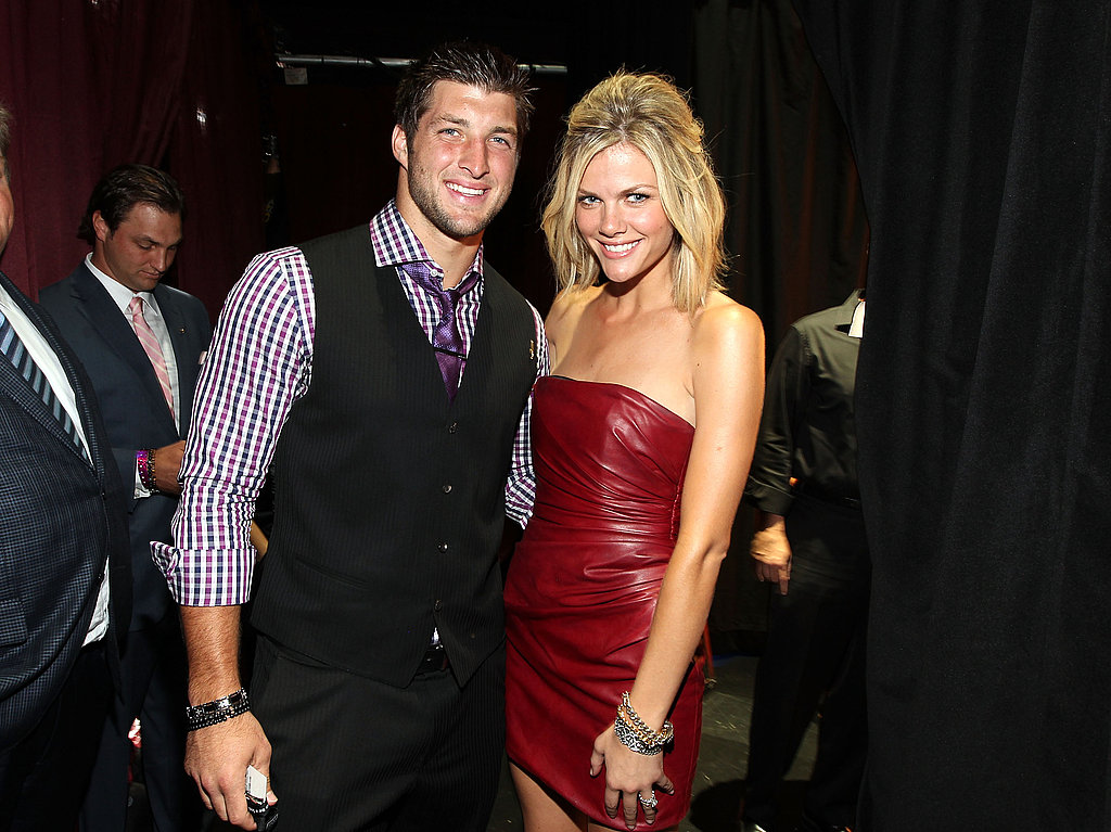 Tim Tebow and Brooklyn Decker