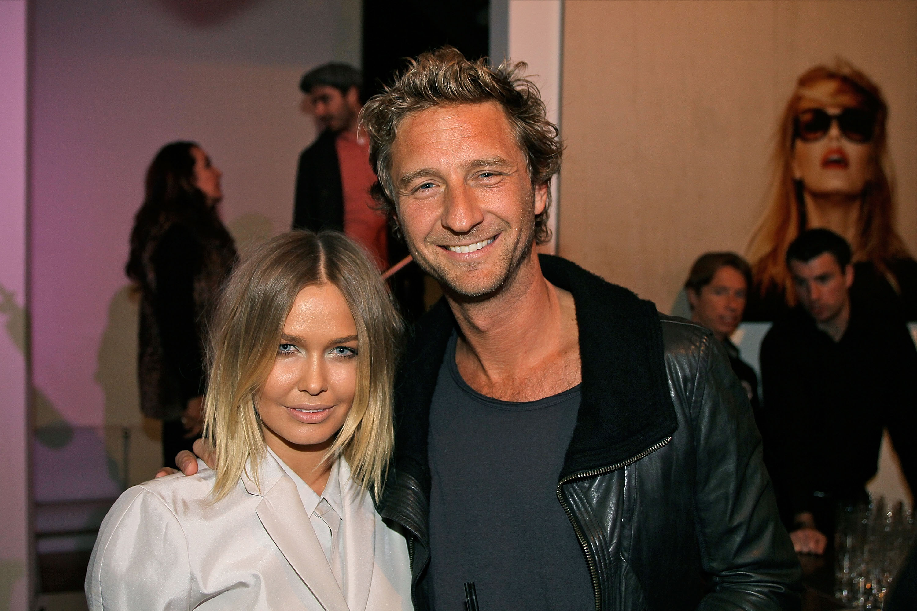 Lara Bingle and Justin Hemmes