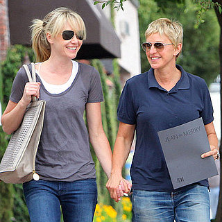 Ellen DeGeneres and Portia de Rossi Shopping in LA