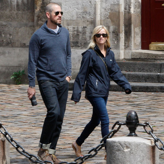 Reese Witherspoon and Jim Toth Shopping at Hermés in Paris Pictures