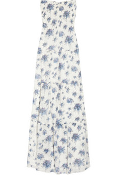 The all-over floral print feels soft and romantic, perfect for layering under a chambray button-down.   Rebecca Taylor Floral-Print Cotton-Voile Maxi Dress ($345)