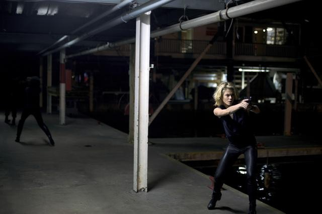 Rachael Taylor in ABC&#039;s Charlie Angels.