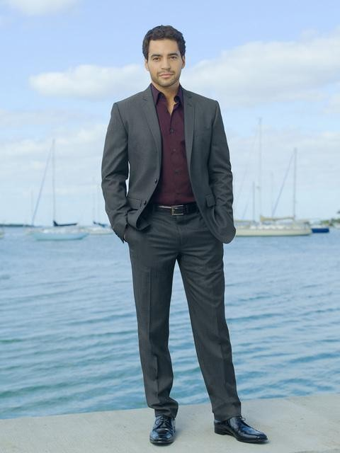 Ramon Rodriguez as Bosley in ABC&#039;s Charlie&#039;s Angels.
