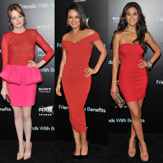 Mila Kunis in Lanvin at Friends With Benefits NY Premiere