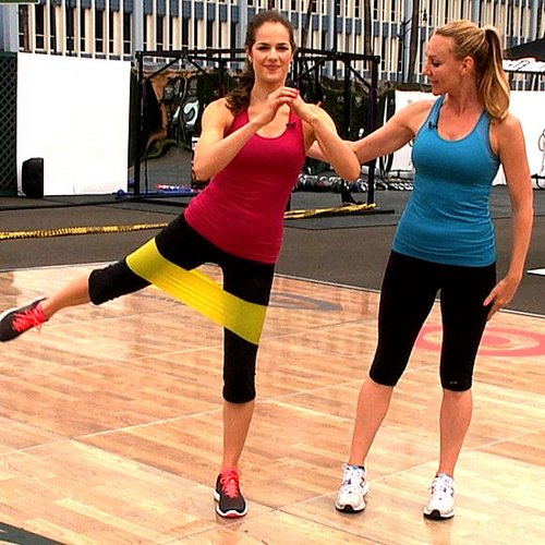Heidi Klum's Full Body Workout Routine [Video]