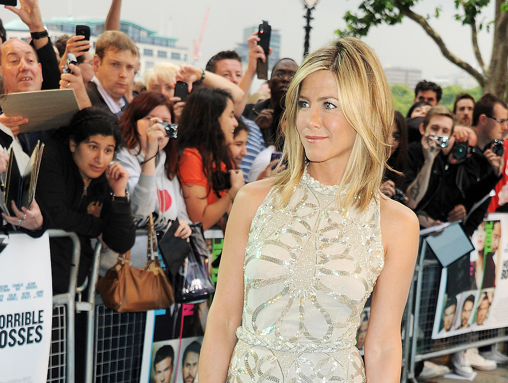 Jennifer Aniston in London.