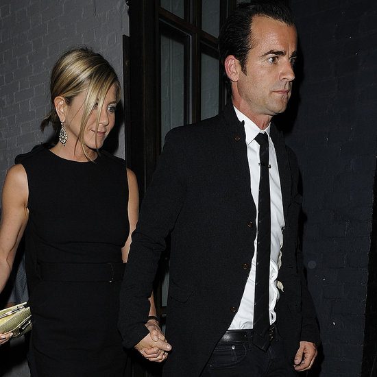 Jennifer Aniston and Justin Theroux Holding Hands Pictures