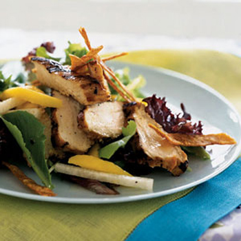 Grilled Chicken Salad With Tequila-Lime Vinaigrette
