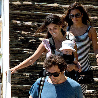 Leo Bardem Pictures With Penelope Cruz and Javier Bardem