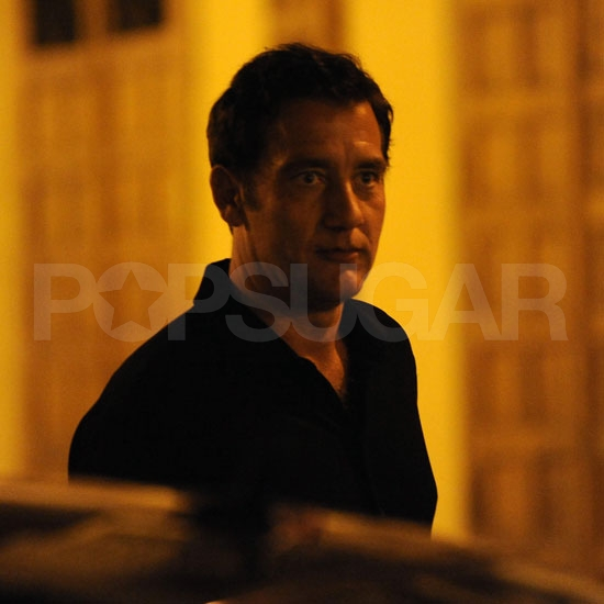 Clive Owen's handsome face!