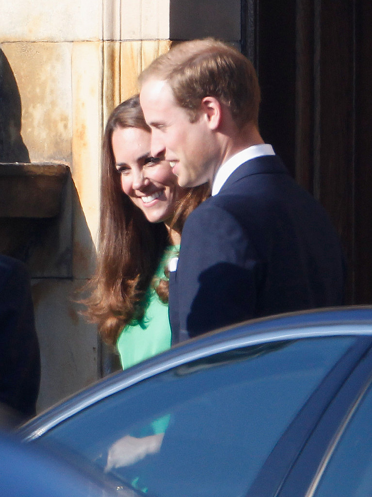 Kate Middleton and Prince William at another royal wedding.