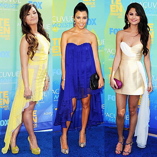 Teen Choice Awards Dresses Trend 2011-08-07 19:20:10