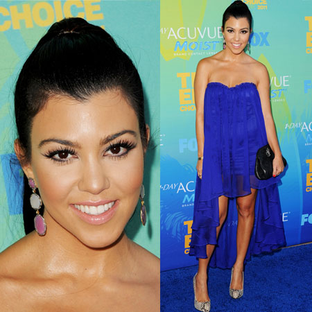 Kourtney Kardashian at 2011 Teen Choice Awards
