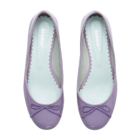 Tina Patent Leather Flats