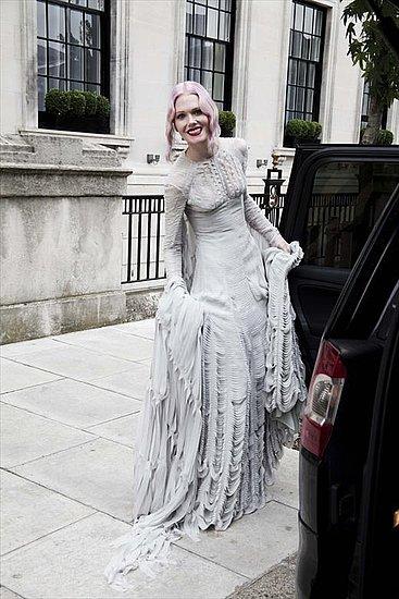 Stylist Katie Shillingford's Gareth Pugh Wedding Dress [Pictures]